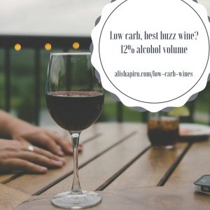 Low-carb, best buzz wines and easy alcohol tip to keep hunger in check!