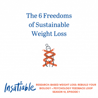 The 6 Freedoms of Sustainable Weight Loss - Insatiable Season 10, Episode 1