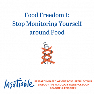 Food Freedom 1: Stop Monitoring Yourself around Food – Insatiable Season 10, Episode 2