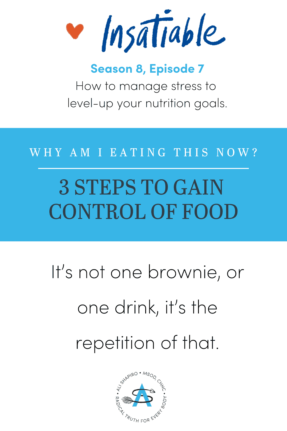 3 Practices to Get Back in Control of Food