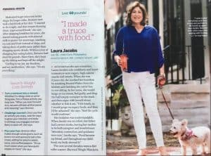 My client's weight loss success featured in Prevention!