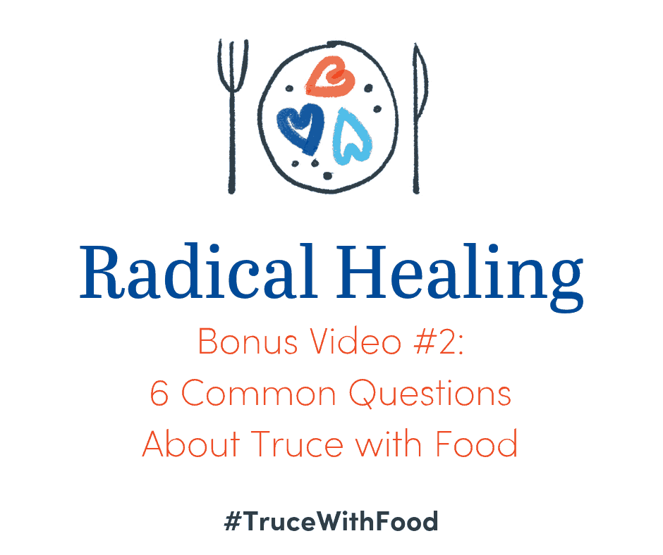 image video 6 common truce with food questions