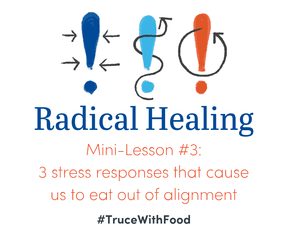 image truce with food blog mini-lessons 3 stress responses cause us to eat out of alignment