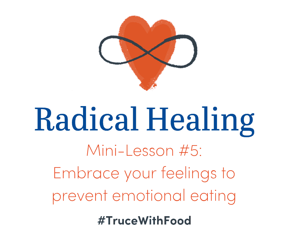 image truce with food blog mini-lessons prevent emotional eating