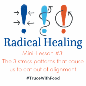 3 stress responses cause us to eat out of alignment